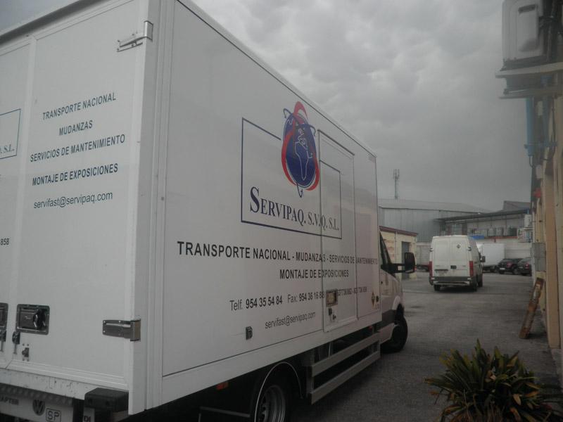 Mudanzas nacionales baratas, empresa de mudanzas nacionales en España
