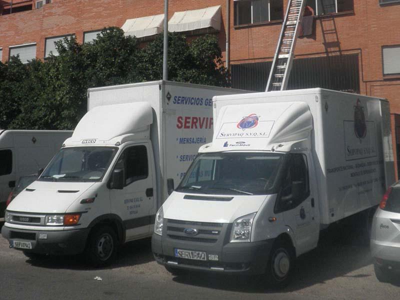 Mudanzas Sevilla Madrid, mudanzas nacionales